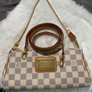 Authentic Louis Vuitton Discontinued Eva Clutch
